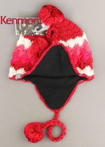Оригинальная разнотонная шапочка