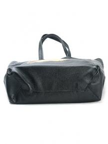 Удобная кожаная сумка с рисунком оленя