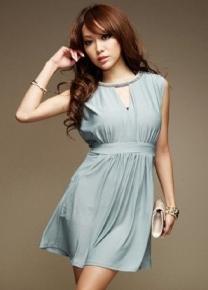 Красивое платье на  резинке
