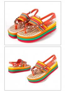 Радужные сандалии