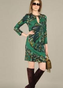 Эффектное платье с застежкой Emilio Pucci