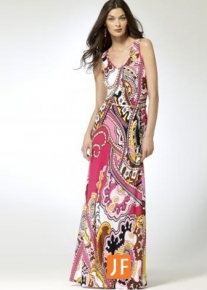Длинное летнее платье Emilio Pucci