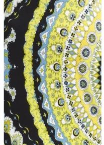 Красивое платье с фрактальным орнаментом Emilio Pucci