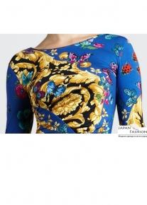 Эпатажное платье с оригинальным принтом Emilio Pucci