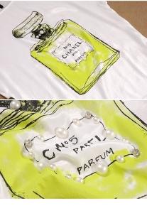 Свободного кроя летняя футболка туника