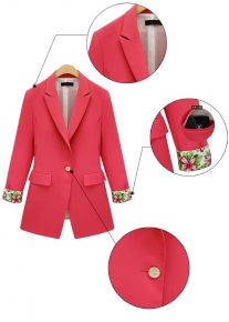 Пиджак с эффектными манжетами