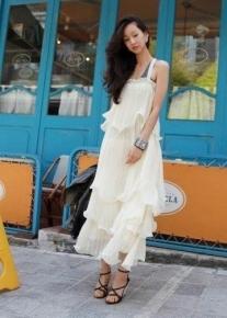 Эксклюзивное платье в балийском стиле