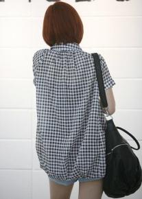 Рубашка свободного кроя