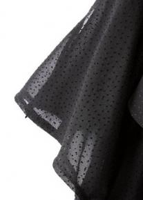 Коктейльное платье с воздушными оборочками