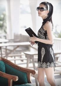 Винтажное платье-туника