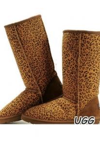 Леопардовые сапожки UGG Australia