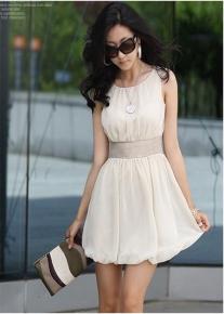 Вечернее шифоновое платье