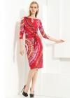 Яркое платье с фрактальным узором Emilio Pucci