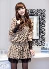 Шифоновое платье с кошечками на резинке