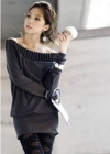 туника-платье лодочка